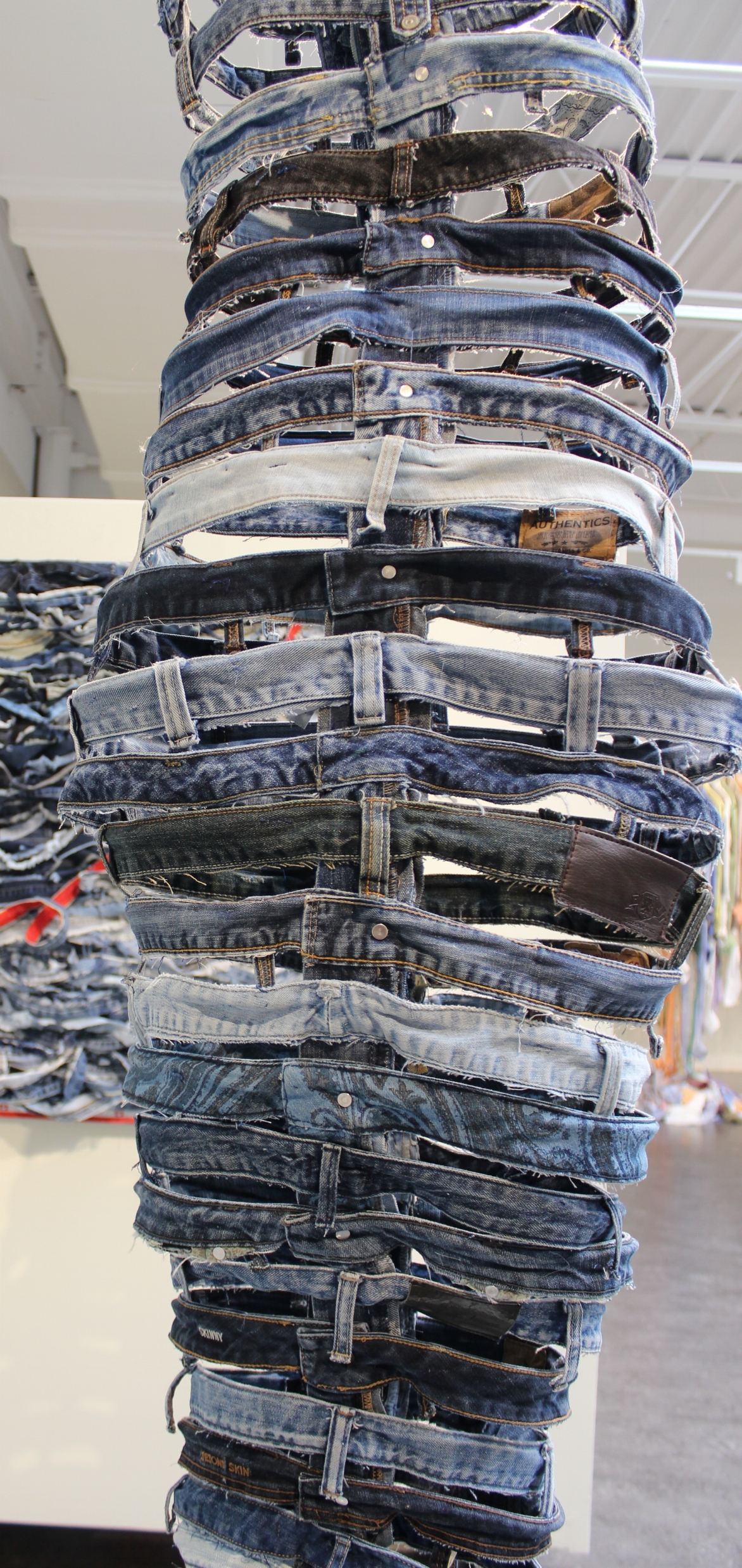 When did jeans become fast fashion? (detail)