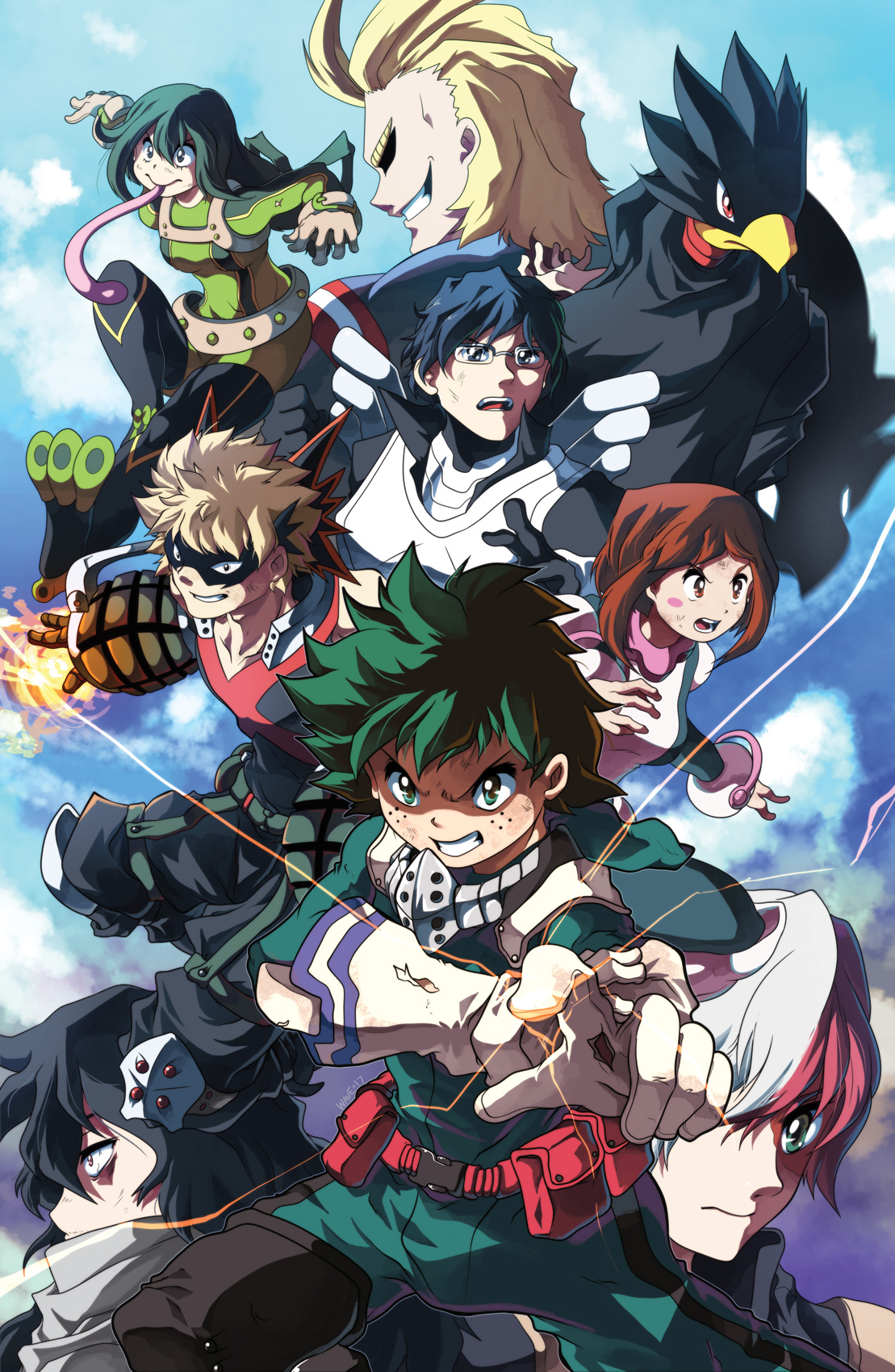 My Hero Academia - Human version
