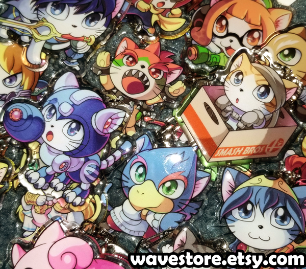 Supurr Smash Cats Charms