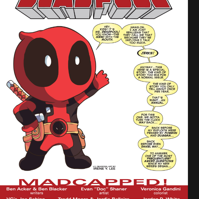 Lil Deadpool - Deadpool Issue #2 (2012)