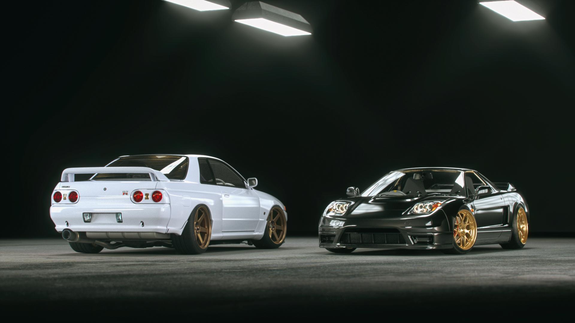 GT-R & NSX -