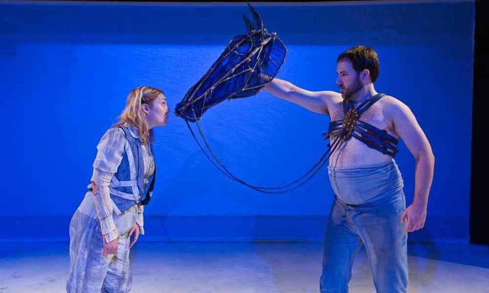 The Horse, The Bird, The Monkey & The Dancer, 2008, Sandbox Theatre