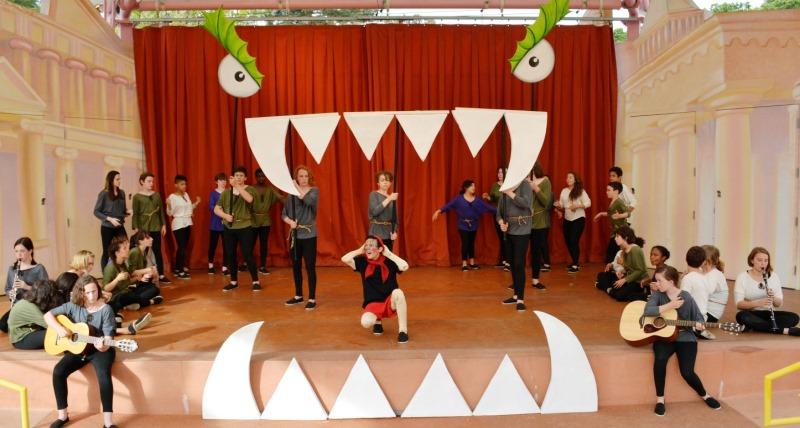 Pinocchio, 2014, Oakland School for the Arts
