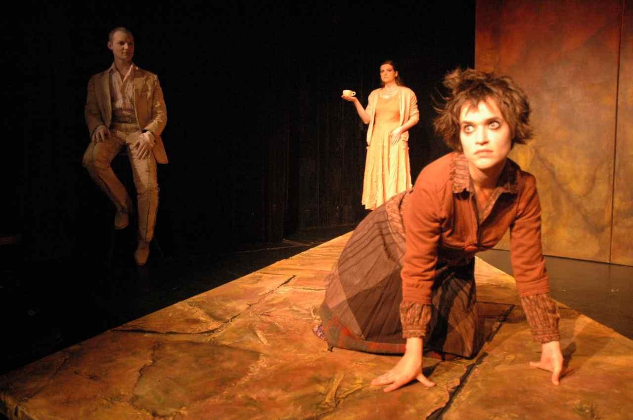 Victoria in Red, 2005, Sandbox Theatre