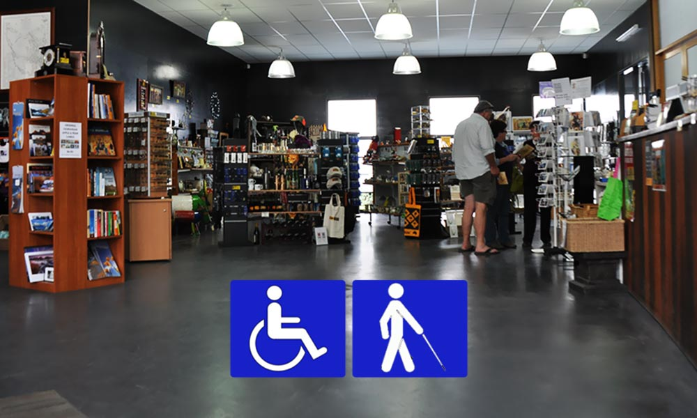 Disability Access / Special Needs - A drop-off point outside the entrance on West Street allows easy access to the Heritage Centre. The Centre is wheelchair accessible to all but the lower level of the Grubb Shaft Engine House and Native Garden.A disabled toilet is located within the Centre.Guide dogs and other registered assistance dogs are welcome at the Beaconsfield Mine & Heritage Centre.If you have a disability and require a companion to accompany you during your visit, your companion will receive free entry upon presentation of your companion card.We accept Companion Cards from all states & territories.