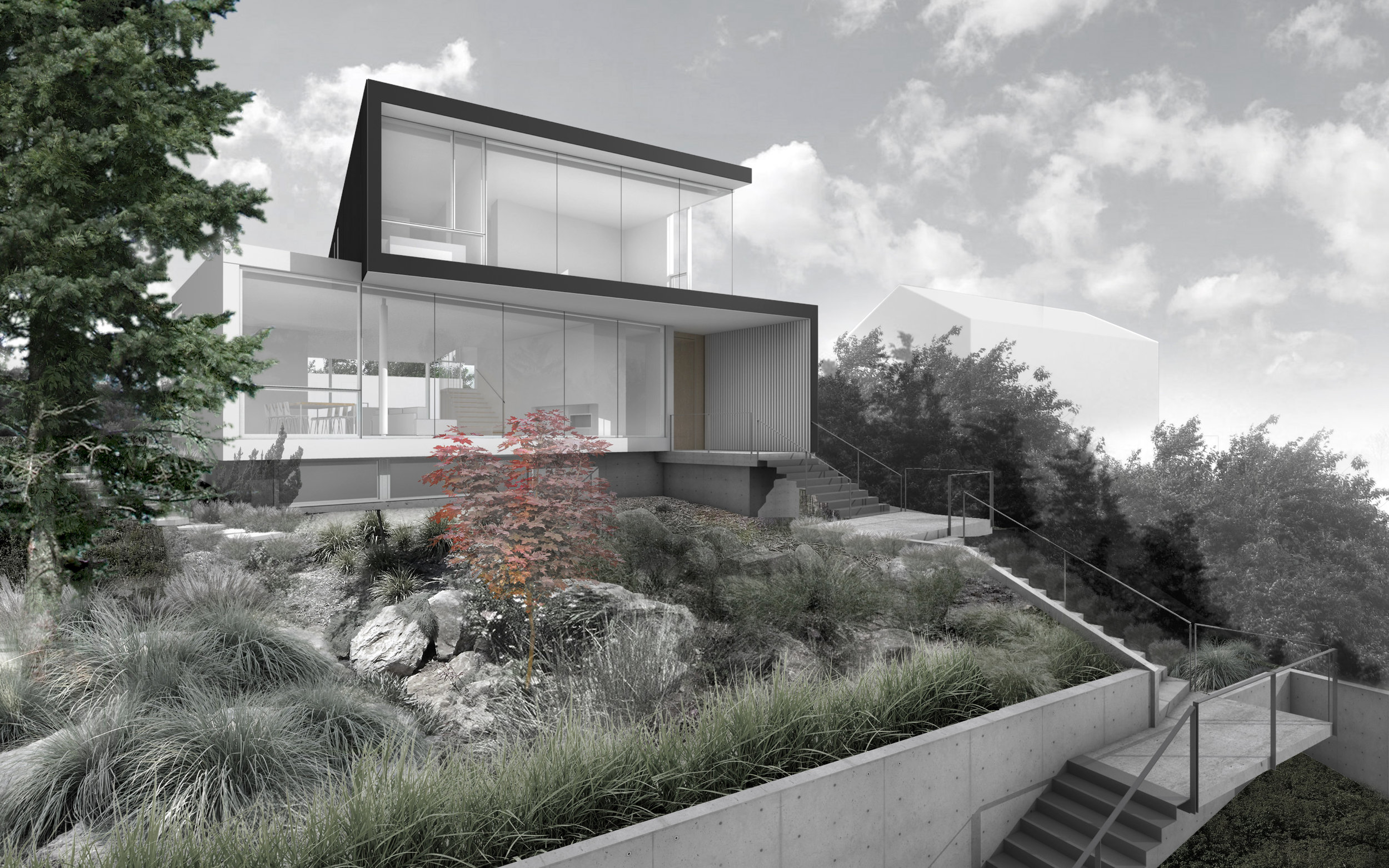 Tolmie Residence  Design:  Splyce Design  Location: Point Grey, Vancouver BC