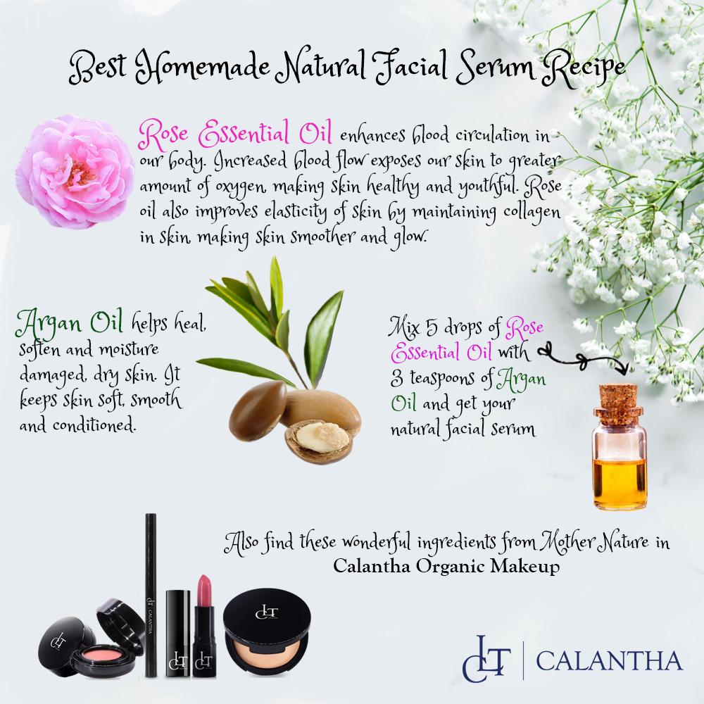 Homemade Anti-Aging Facial Serum Recipe