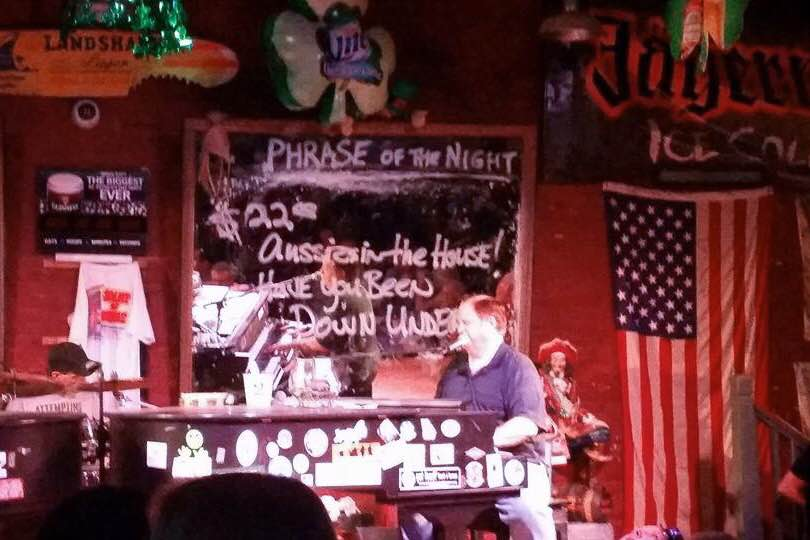 Spotted at the Duelling Piano Bar in Savannah, USA