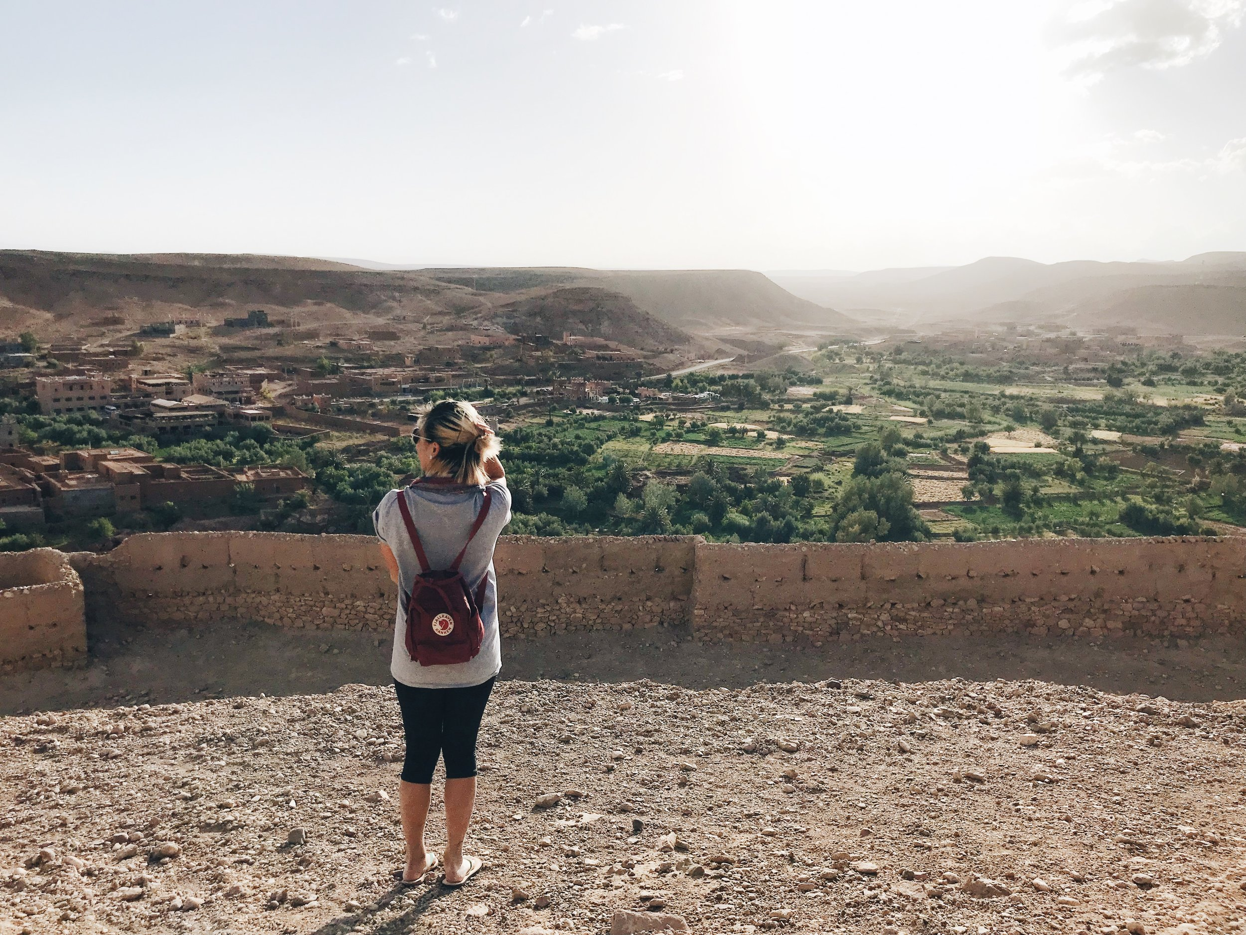 Candid travel pics while looking into the distance just work better with travel baes.