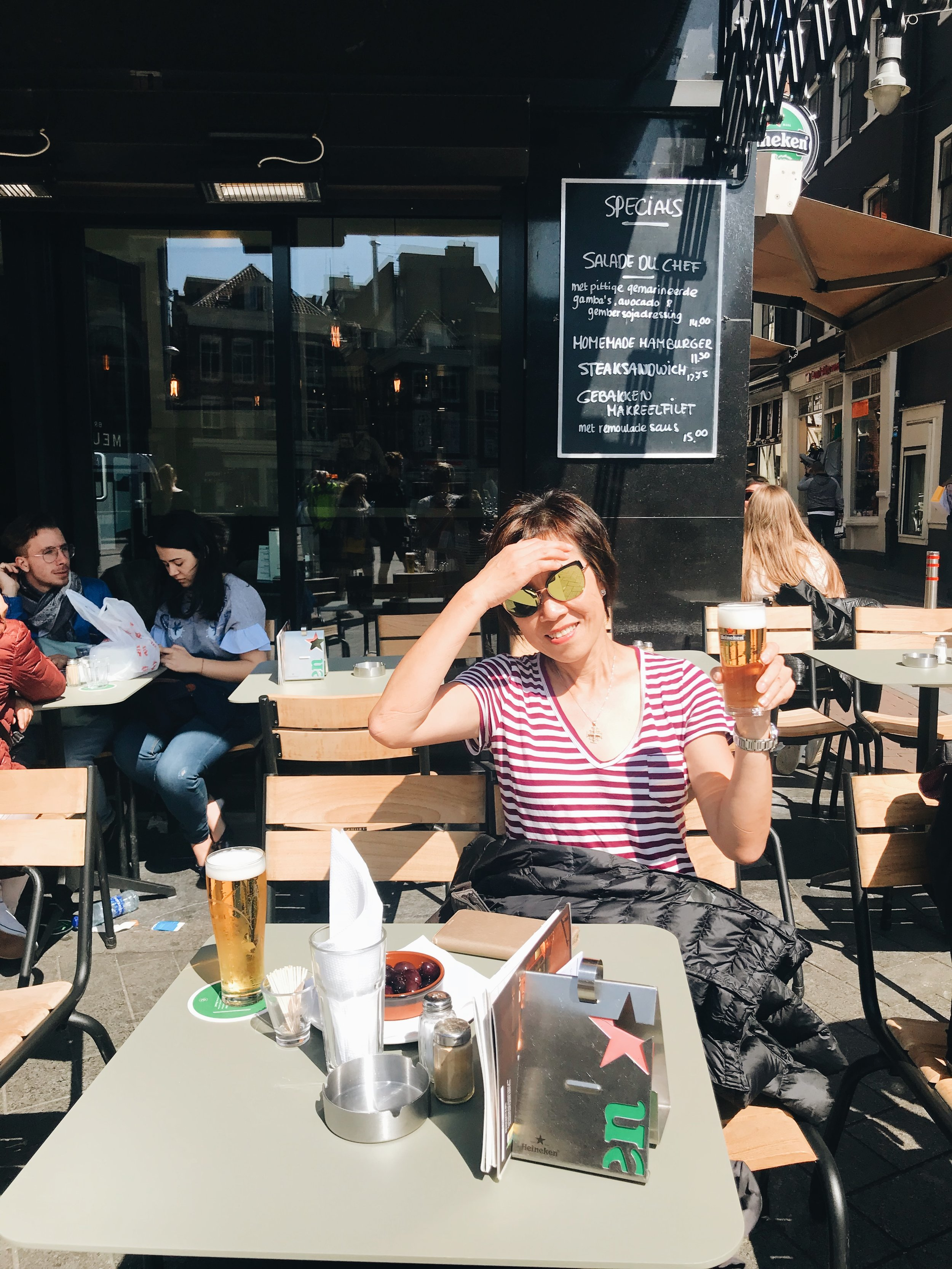 Soaking in - and drinking - the Dutch culture in Amsterdam