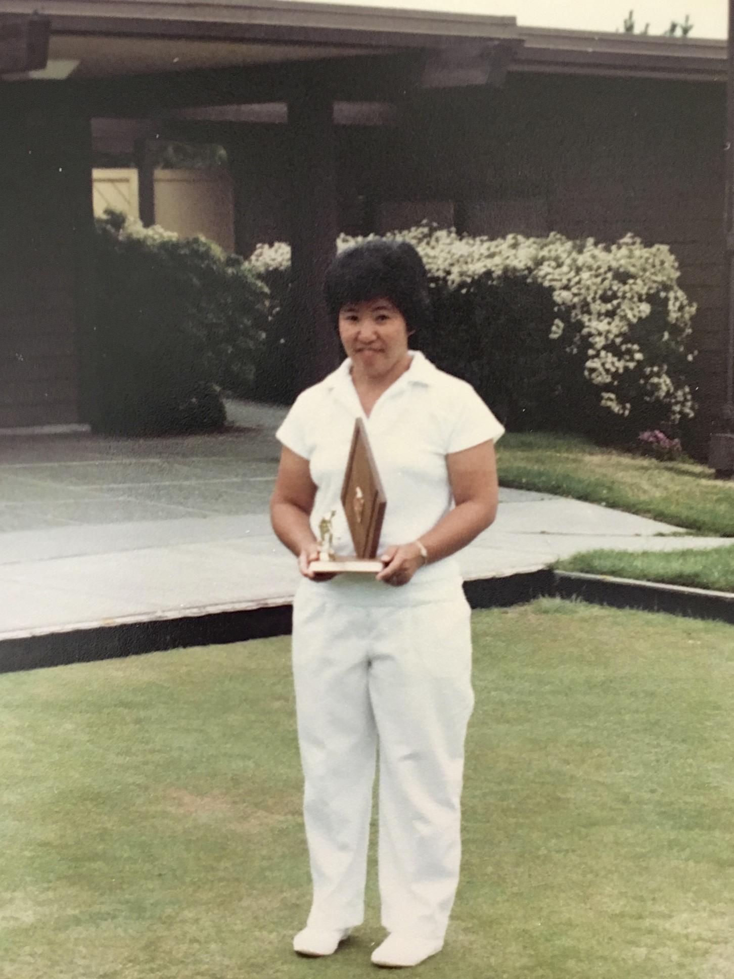 Bowls Hall of Fame Inductee, Nancy Nishikawa