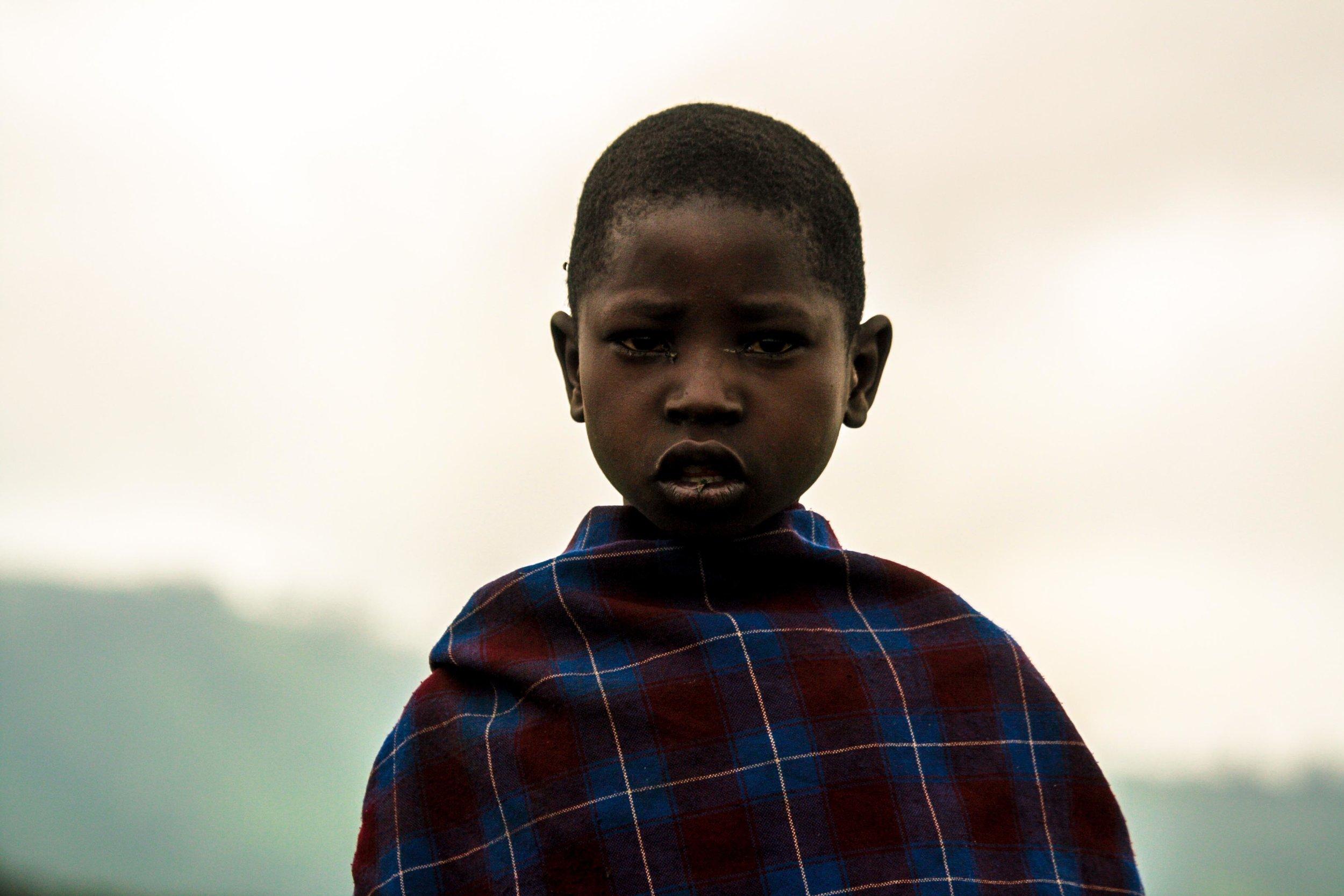 tanzania 2016   a masaai boy in the highlands of arusha