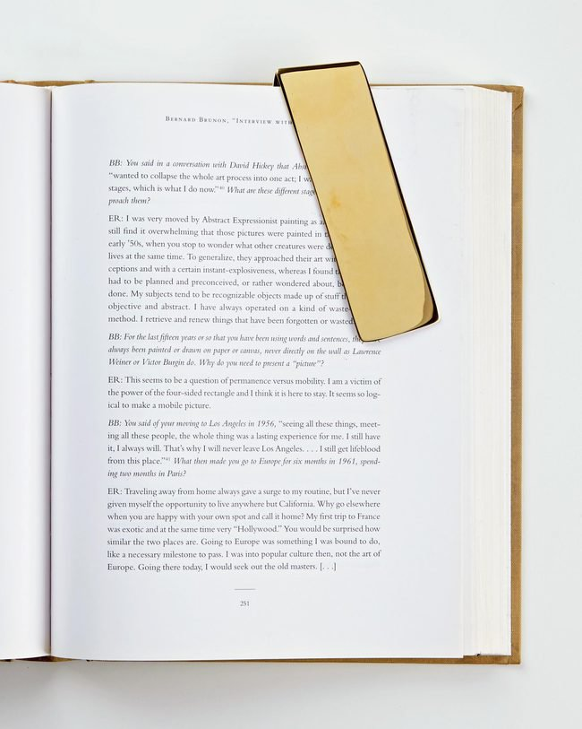 Folded Bookmark