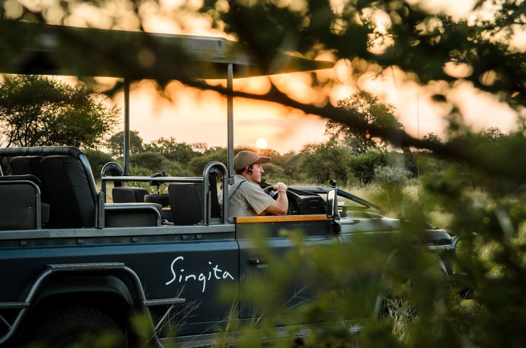 Twice-daily  Game Drives  provide an unforgettable South African experience.