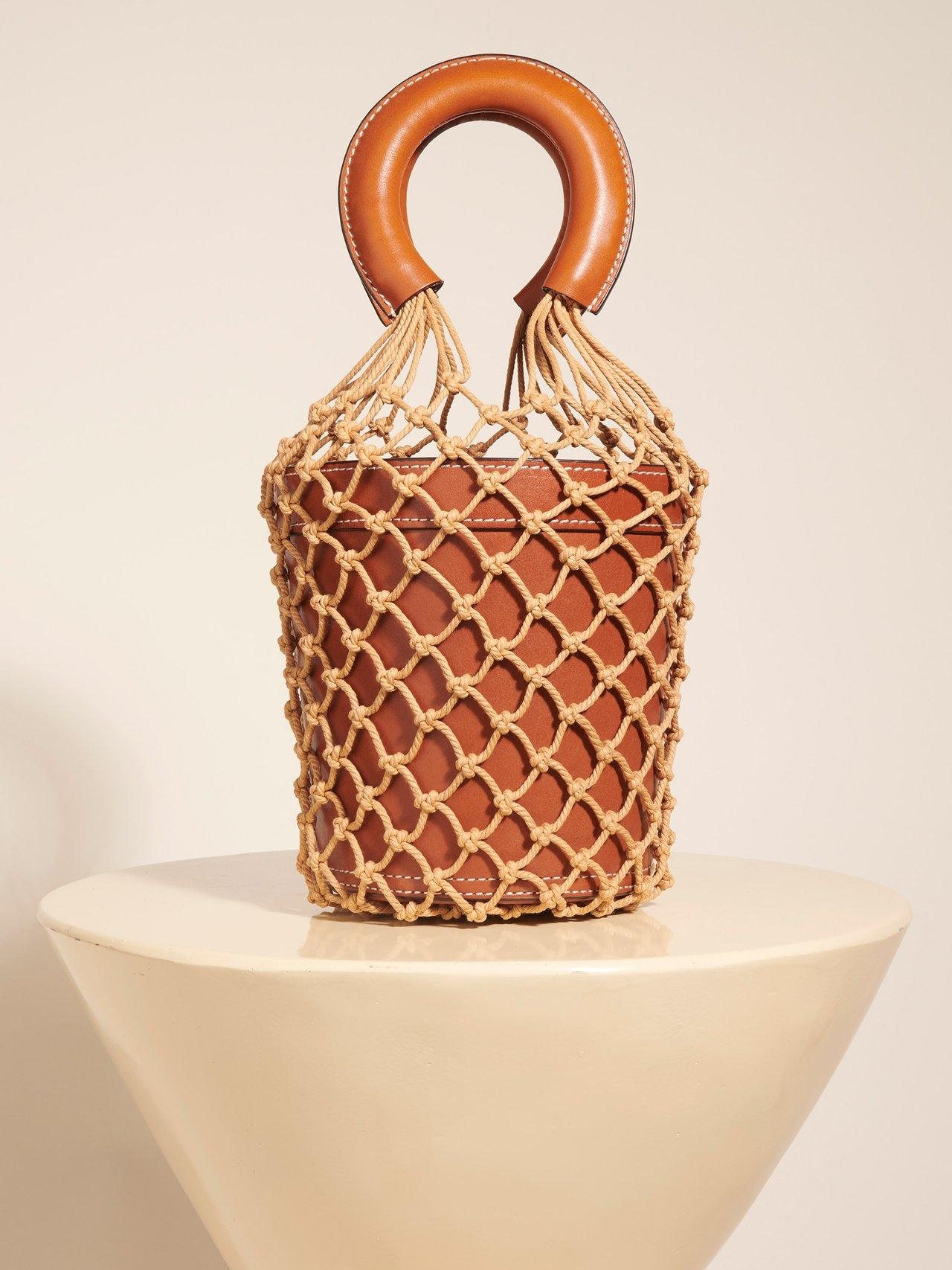 Moreau Bucket Bag in Saddle