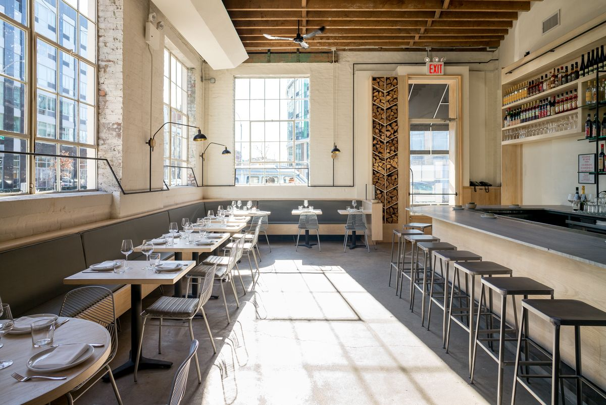 Missy Robbins's new Italian restaurant Lilia in Williamsburg. Photo credit:  Nick Solares