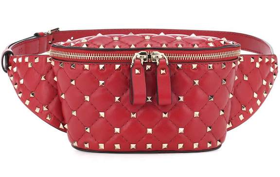 Garavani Rockstud Leather Belt Bag