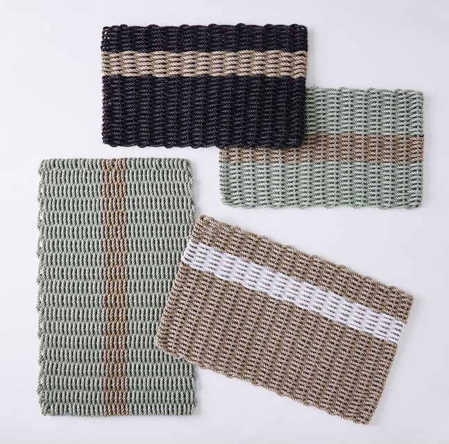 Essential Stripe Doormat by The Rope Co.