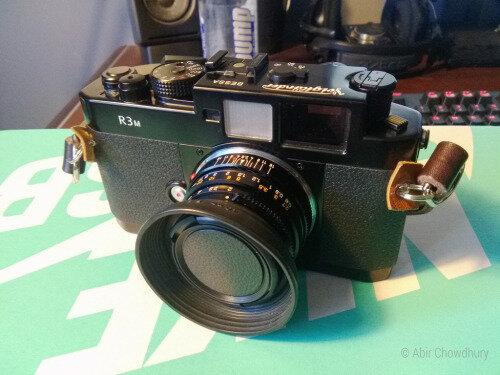 My Voigtlander Bess R3M rangefinder and Minolta M-Rokkor 40mm F2 lens.