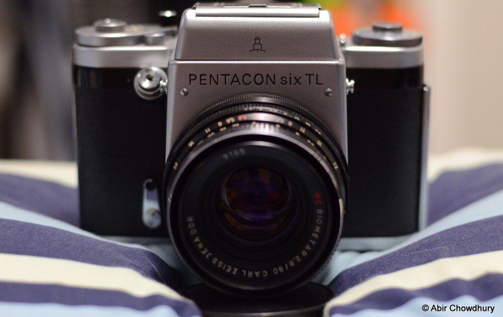 My Pentacon Six TL with my Carl Zeiss Jena 80mm f2.8.
