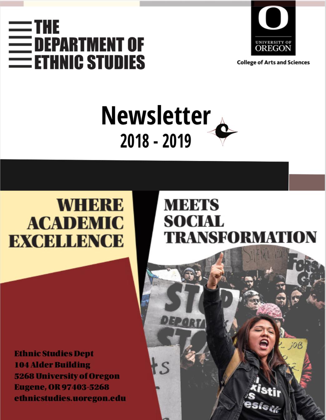 ES Newsletter cover - Draft