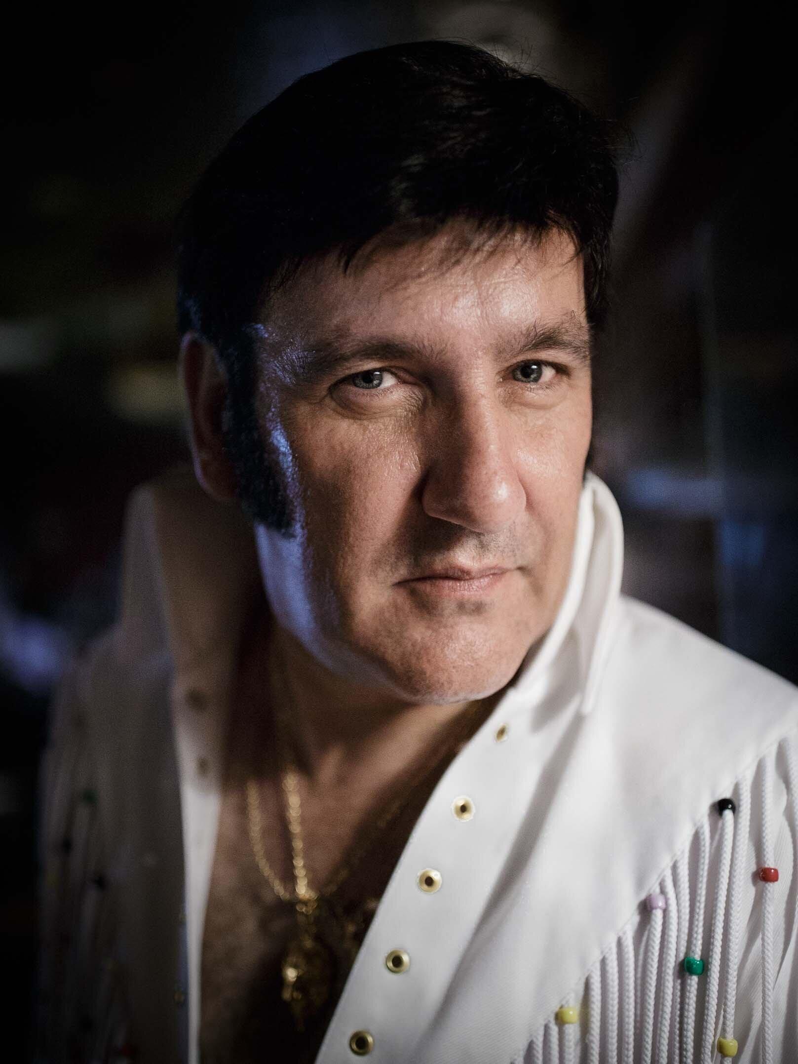 John, from Scotland, an Elvis Tribute Artist (ETA) for 23 years.