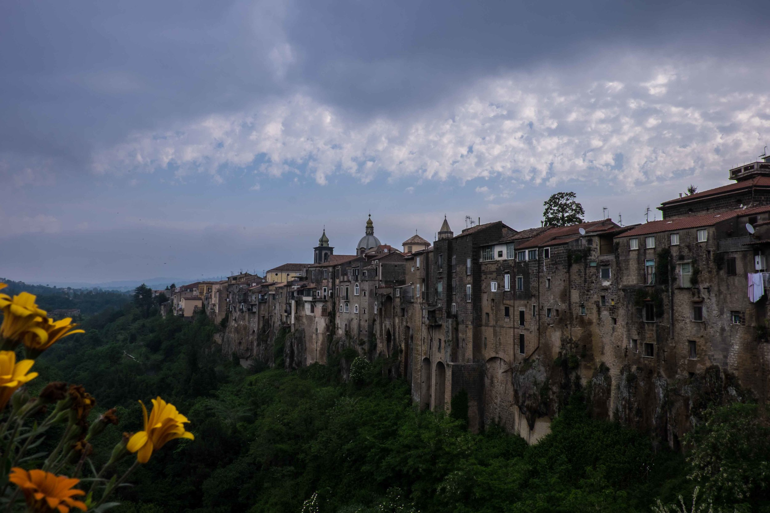 Sant'Agata dei' Goti on a spur of volcanic rock, Campania, Italy |  ©John Szabo (published by Jacqui Small)