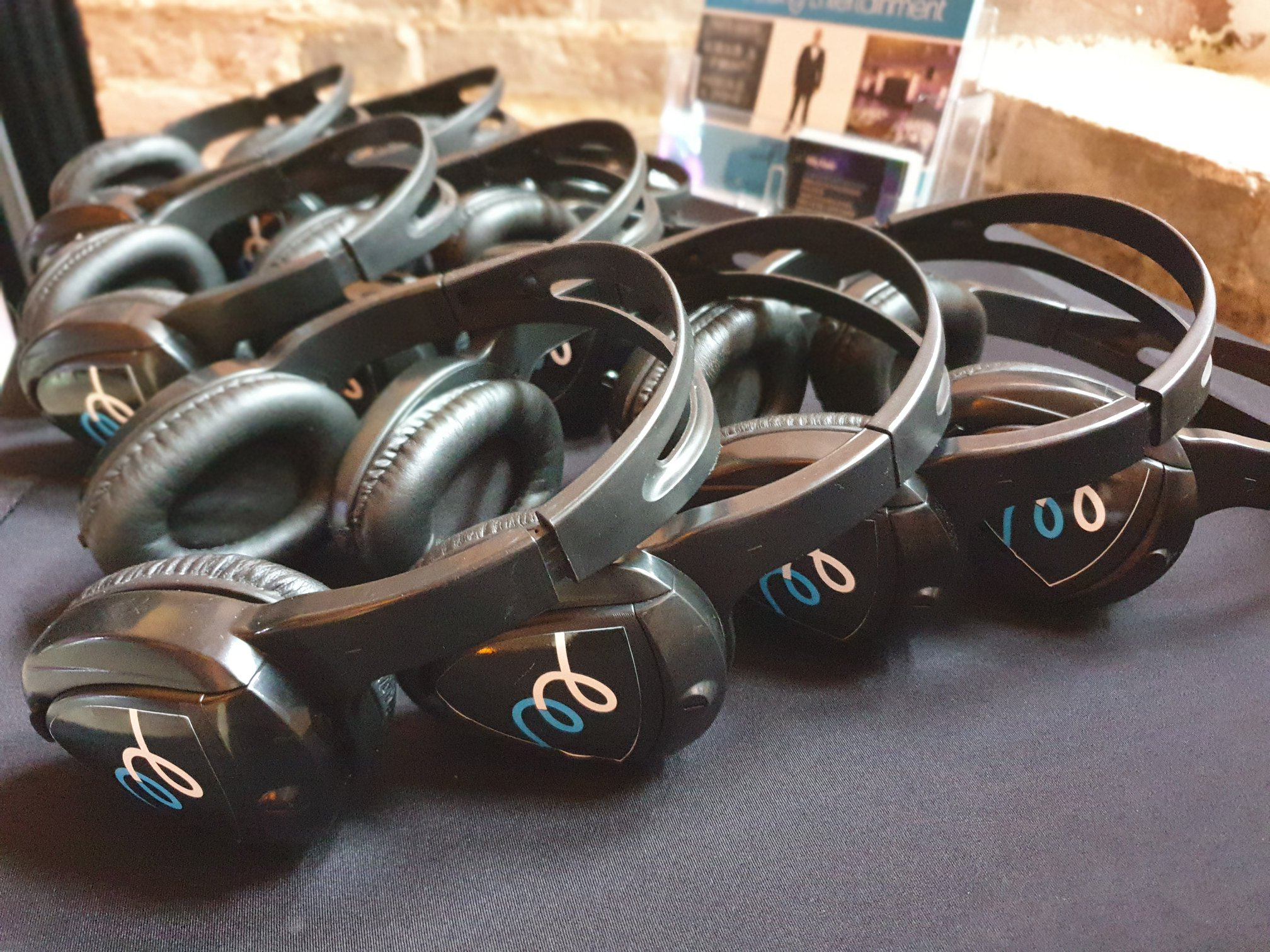 Headphones - With over 300 headsets now available, the perfect addition to any wedding or party. Sing like no one is listening, dance like no one is watching!!! Please message us if you would like to add this to your package, or interested in booking.