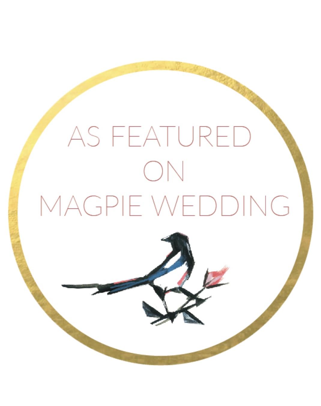 Featured In Magpie Wedding