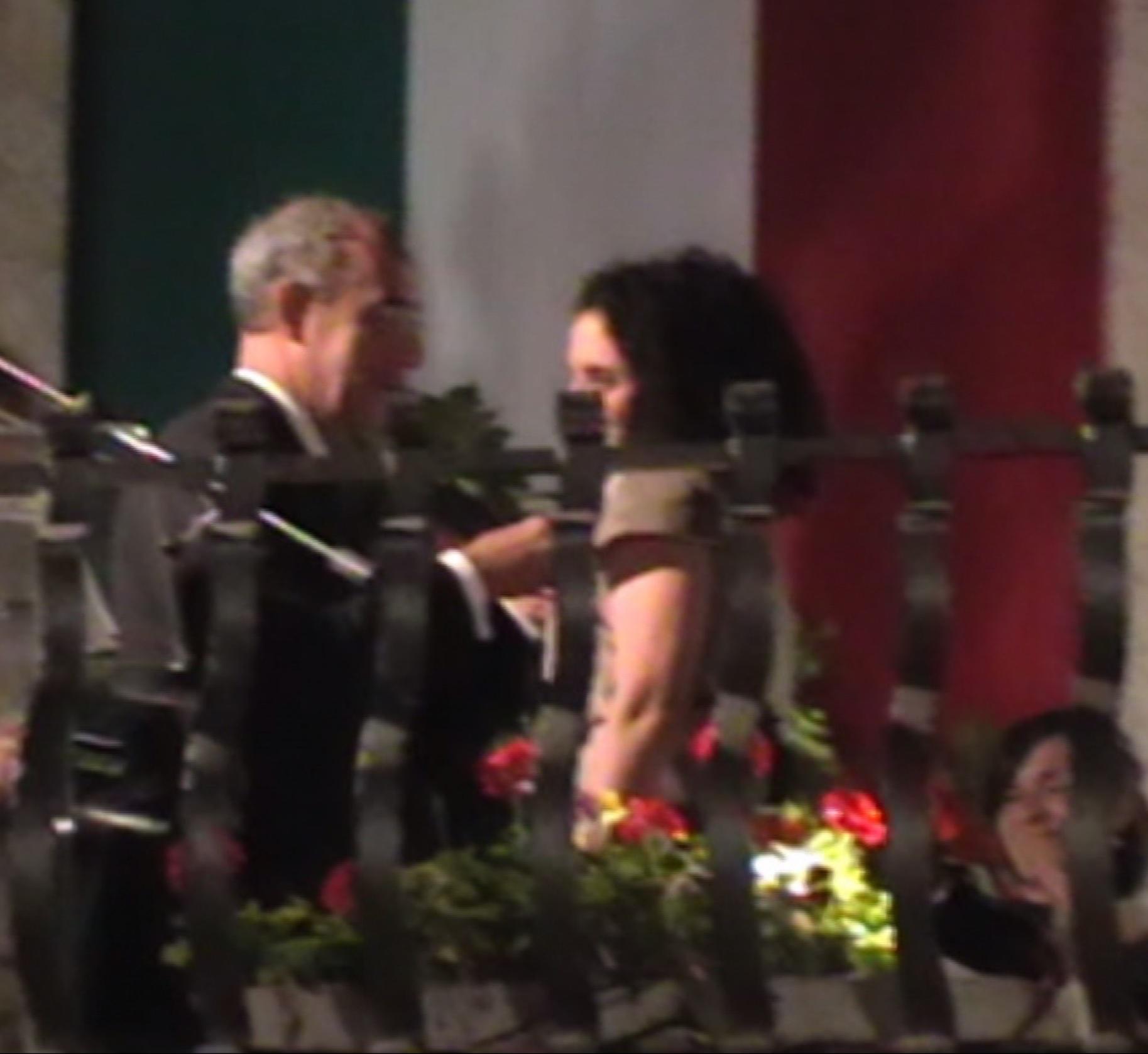 Cermony of Granting of the Cavaliere dell'Ordine della Stella d'Italia (Order of the Star of Italy) Decoration.