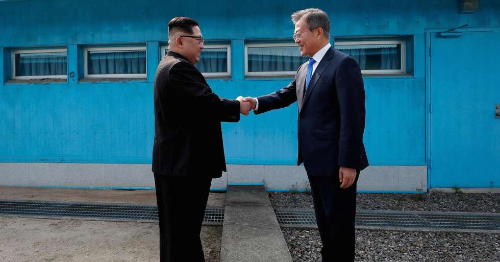 NORTH AND SOUTH KOREA MEET - For as long as I can remember, the North Korea/ South Korea divide has been ever present. The figure of Kim Jong – un will always carry negative motifs in my mind. From main stream media painting him as a mad dictator, to play ground talk of Kim Jung – un taking over the world (Have to forgive the child's tendency for the over dramatic) everyone knew the relationship between North Korea and South Korea, and its unstable condition