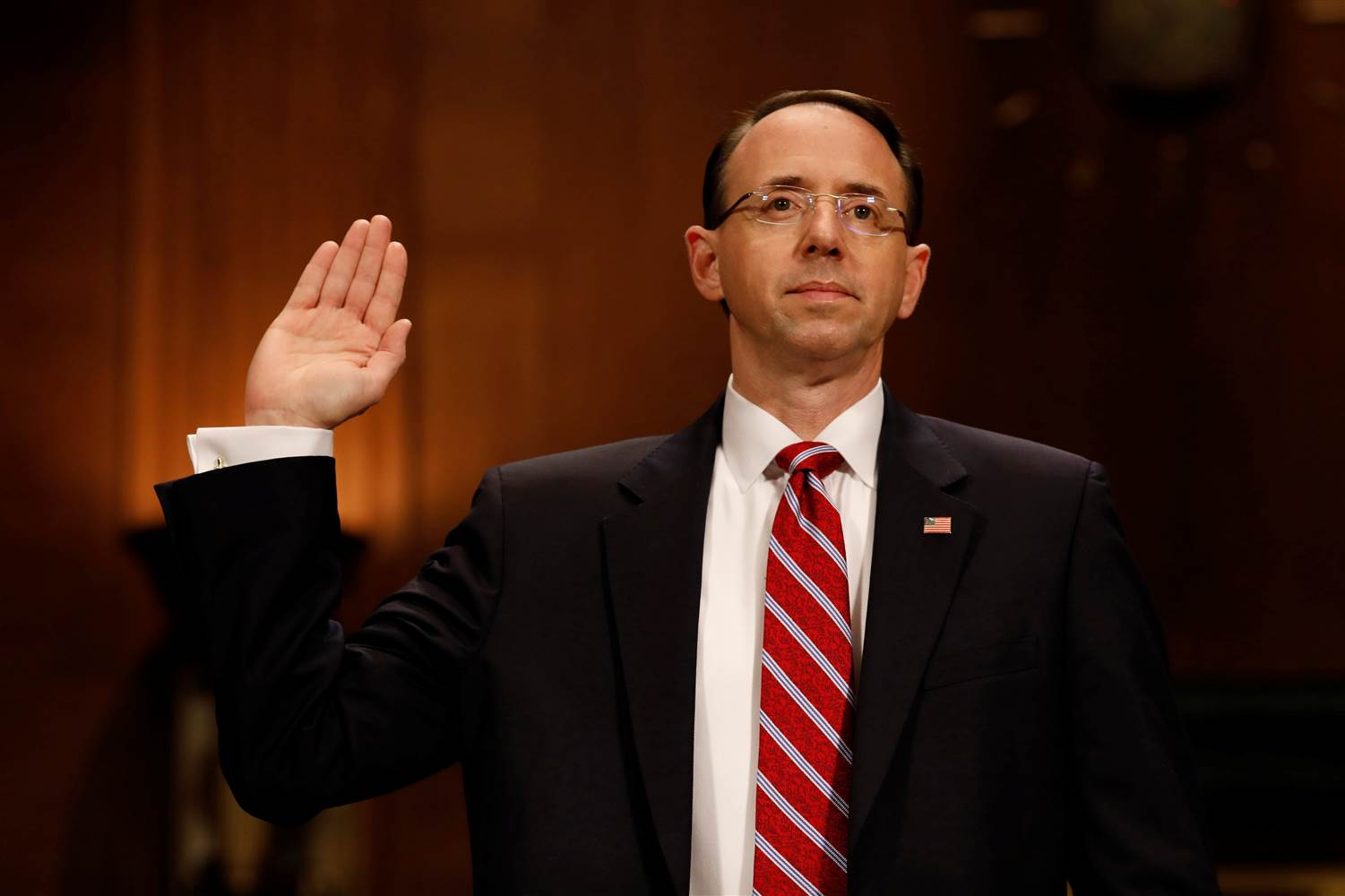 rod Rosenstein - American attorney serving as United States Deputy Attorney General since 2017. Prior to his current appointment, he served as a United States Attorney for the District of Maryland