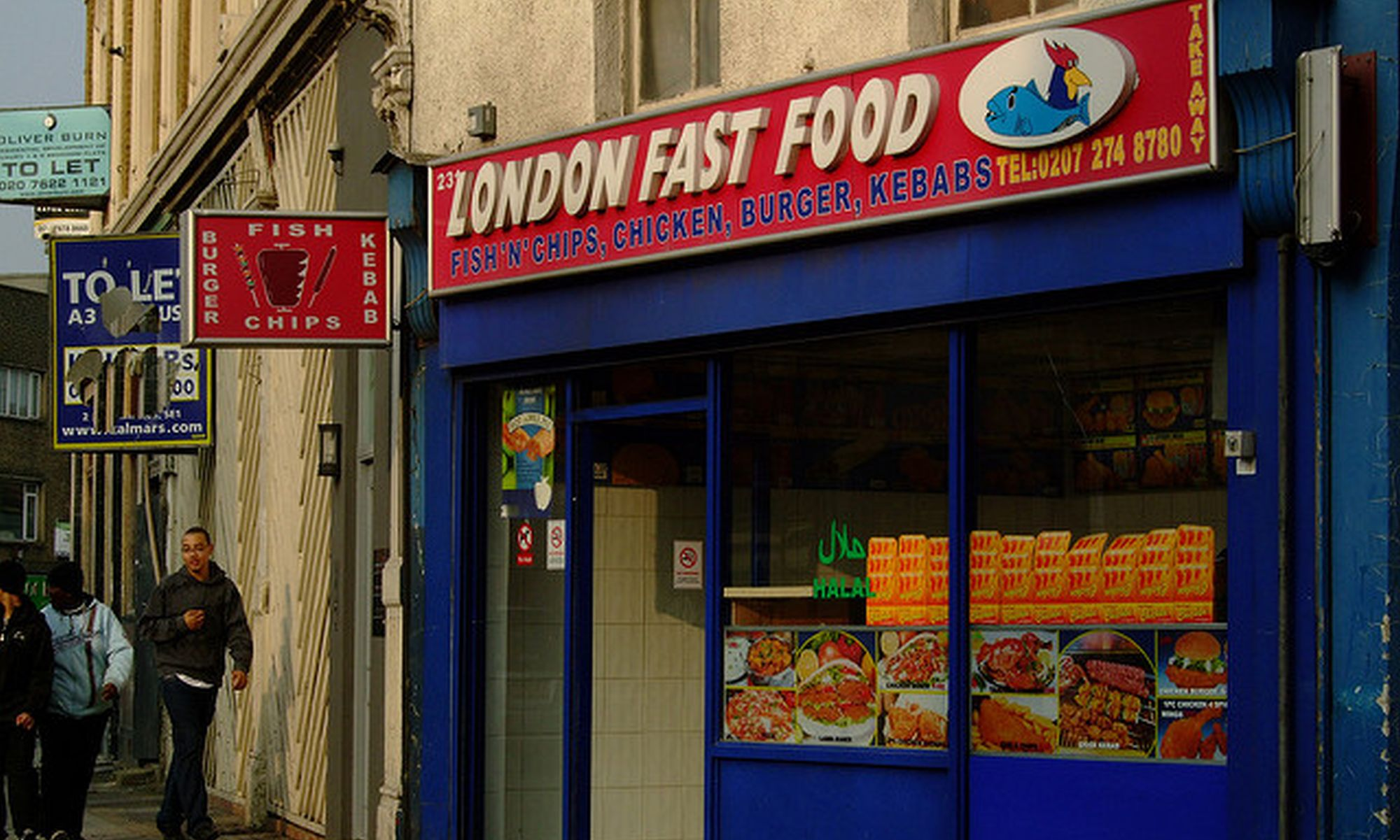 CHILDREN IN POORER AREAS EXPOSED TO FIVE TIMES MORE FAST FOOD -