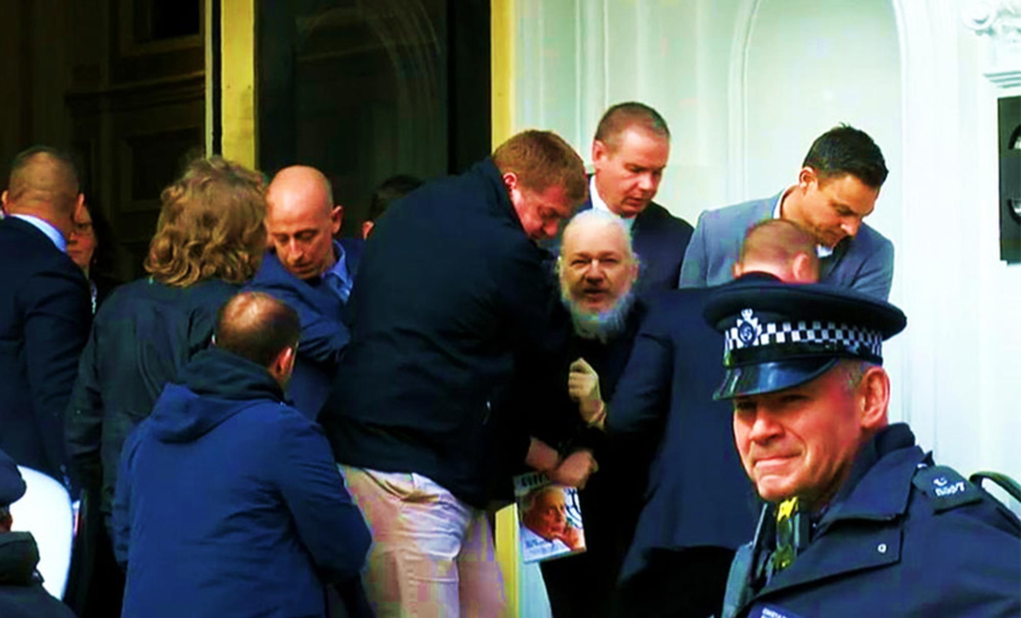 assange arrest means bad news for clinton and obama -