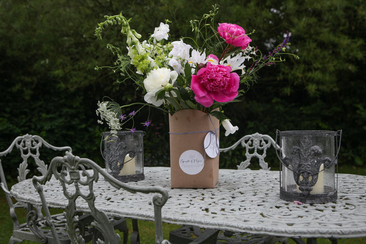 an ickle bunch delivered to your door every week. -