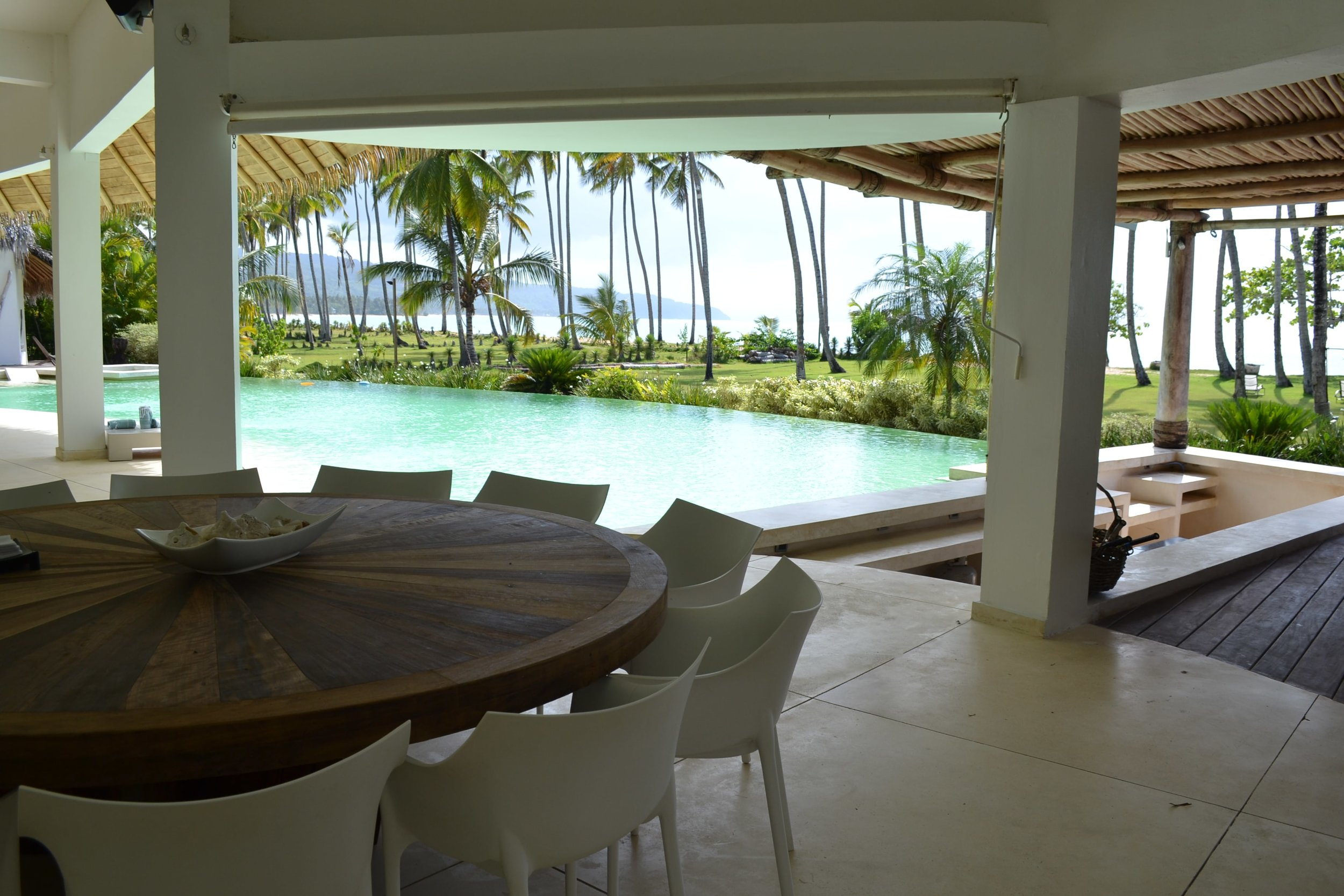 Villa for Sale Las Terrenas swimming pool view.JPG