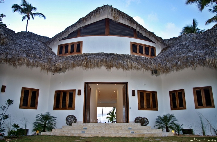 Las Terrenas Villa Ocean Lodge entrance view.jpg