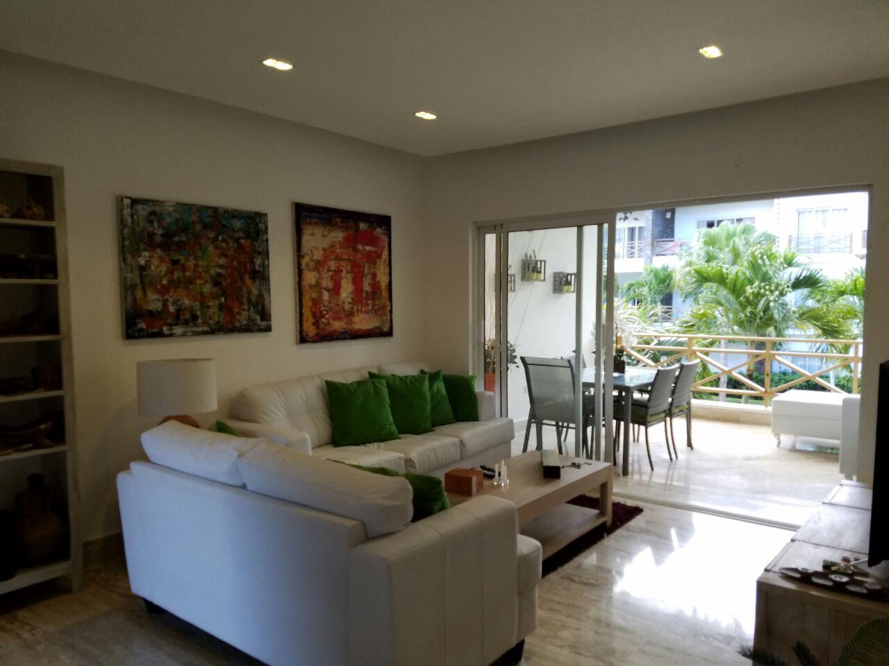 Apartment for sale las terrenas monserrat II living room view.jpeg
