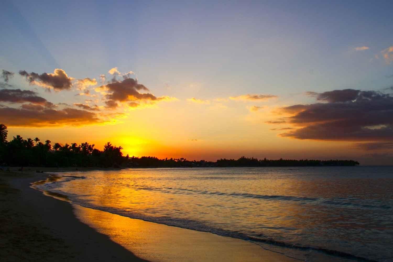 Casa Playa beachfront villa rent in Las Terrenas sunset coson.jpg
