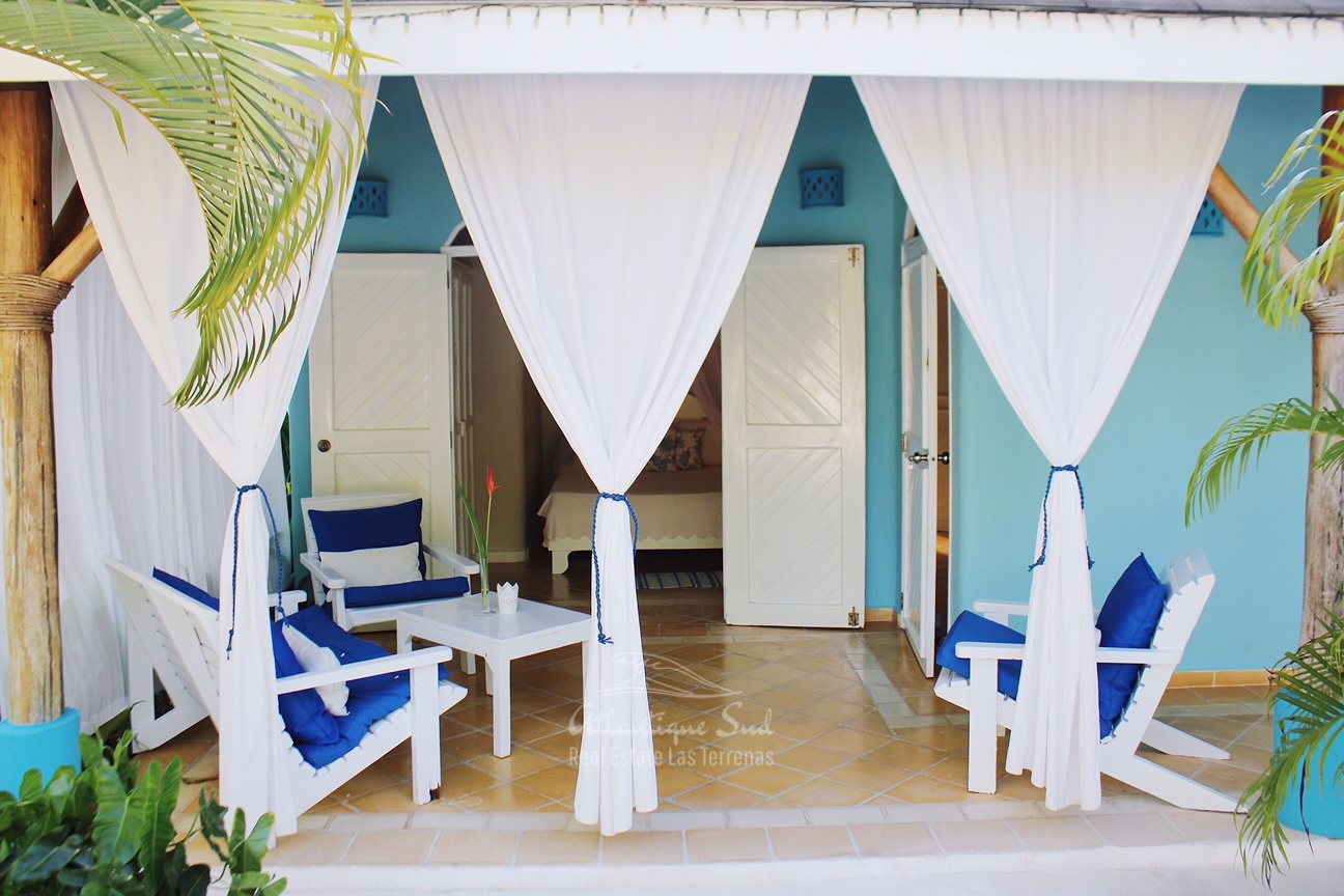 Domain of main villa and 5 separate bungalows ideal for bed & breakfast in Las Terrenas Real Estate Dominican Republic1 (2).jpg