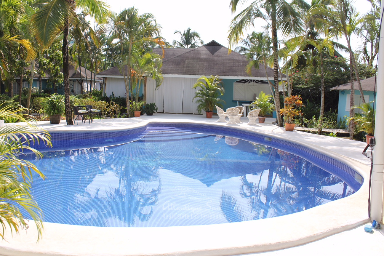 Domain of main villa with 5 separate bungalows ideal for bed & breakfast in Las Terrenas Real Estate Dominican Republic20.jpg
