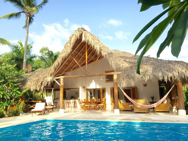 Main villa & 2 separated bungalows in exclusive community several steps from the beach in Las Terrenas Real Estate Dominican Republic23.jpg
