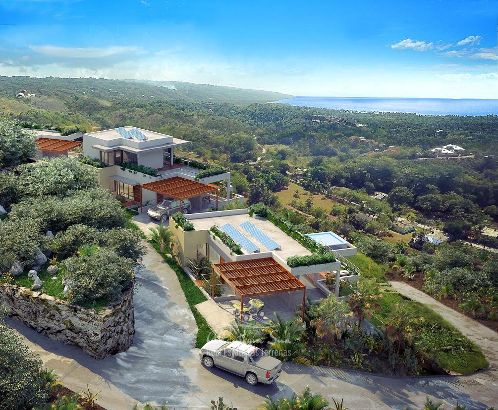 Ecofriendly Villas under development on a hillside with amazing ocean views in Las Terrenas Real Estate Dominican Republic3.jpg
