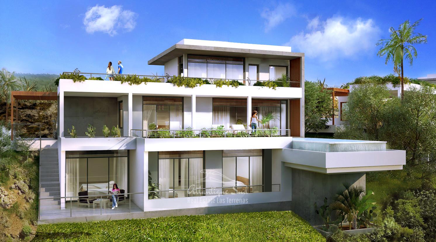 Ecofriendly Villas under development on a hillside with amazing ocean views in Las Terrenas Real Estate Dominican Republic10.jpg