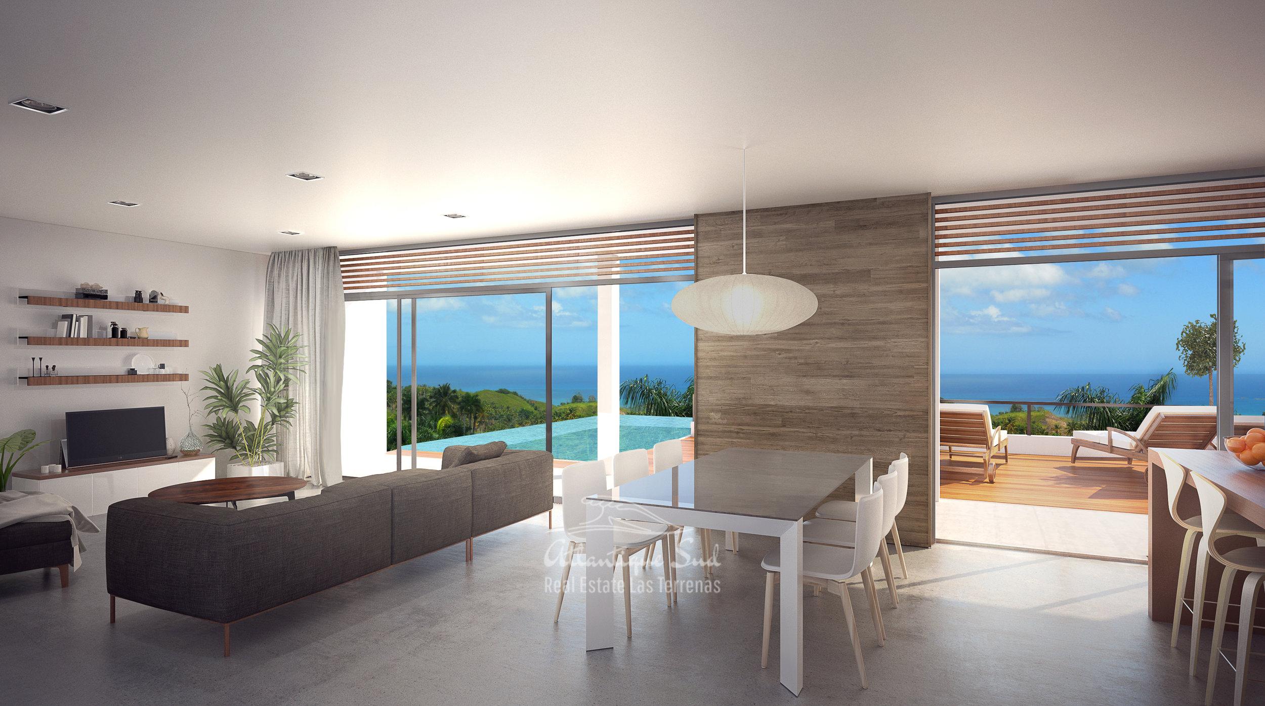 Ecofriendly Villas under development on a hillside with amazing ocean views in Las Terrenas Real Estate Dominican Republic6.jpg