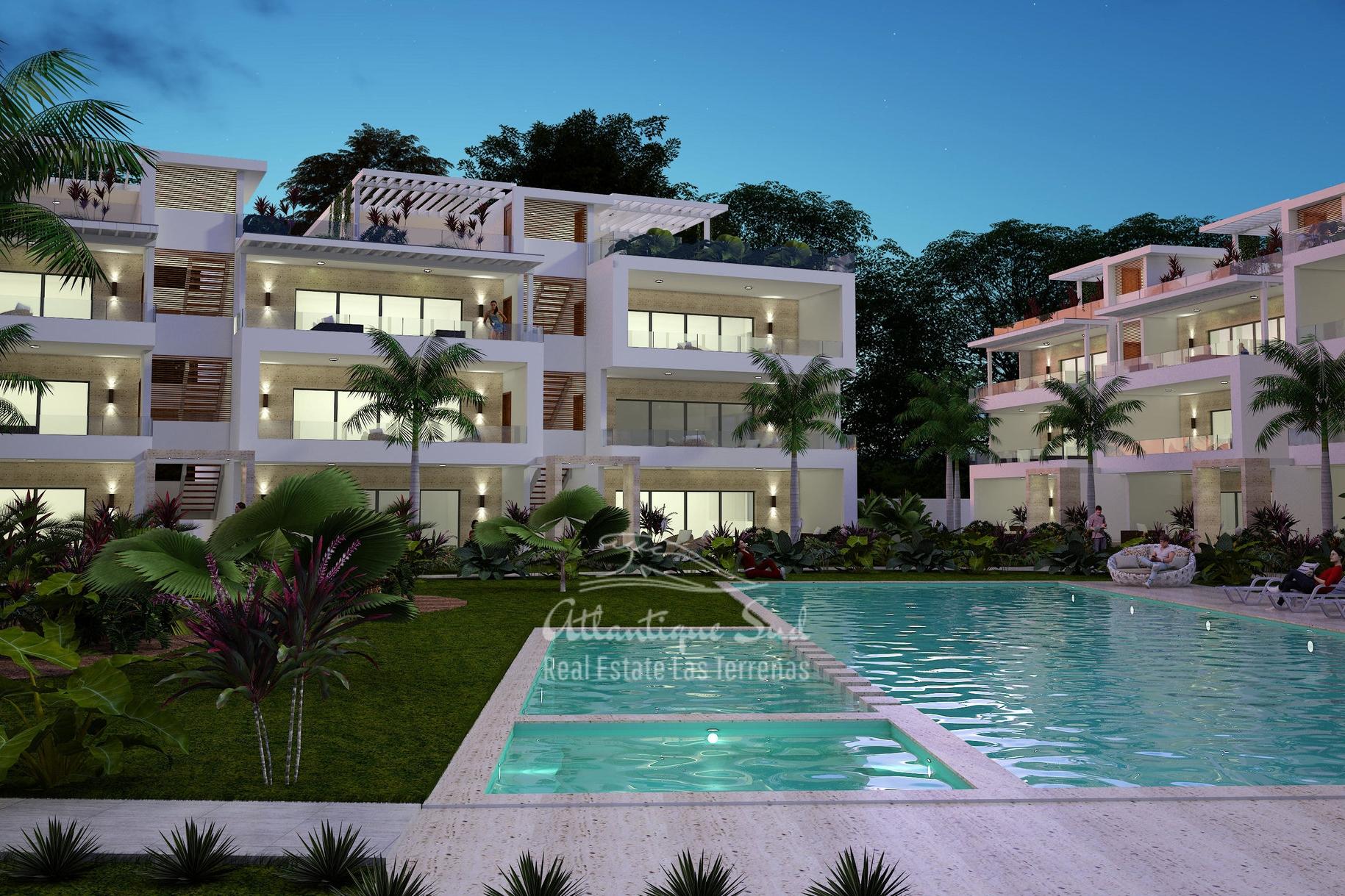 Ultra modern condominium in central location Real Estate Las Terrenas Atlantique Sud Dominican Republic (1).jpg