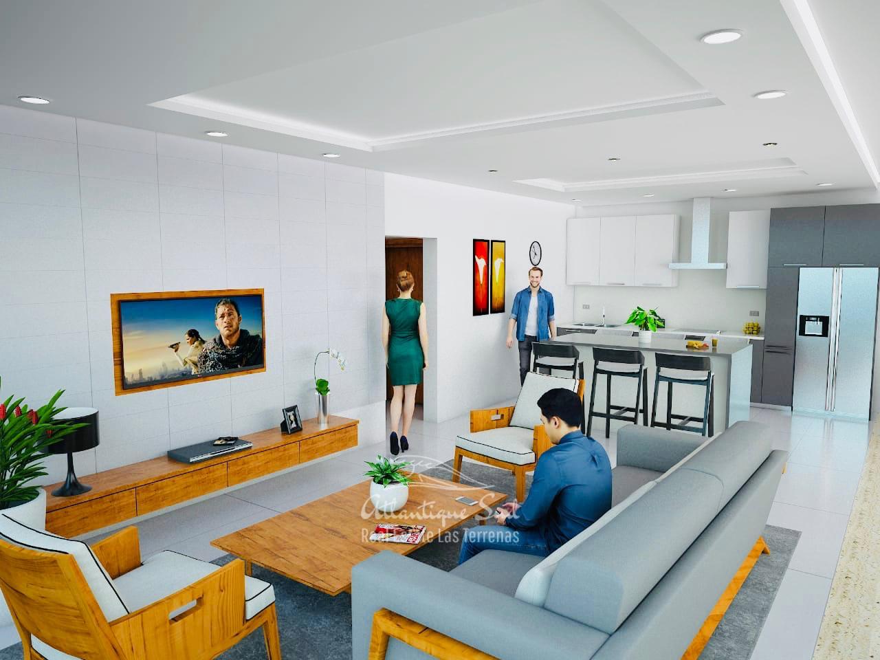 Modern condominium in central location Real Estate Las Terrenas Atlantique Sud Dominican Republic3.jpg