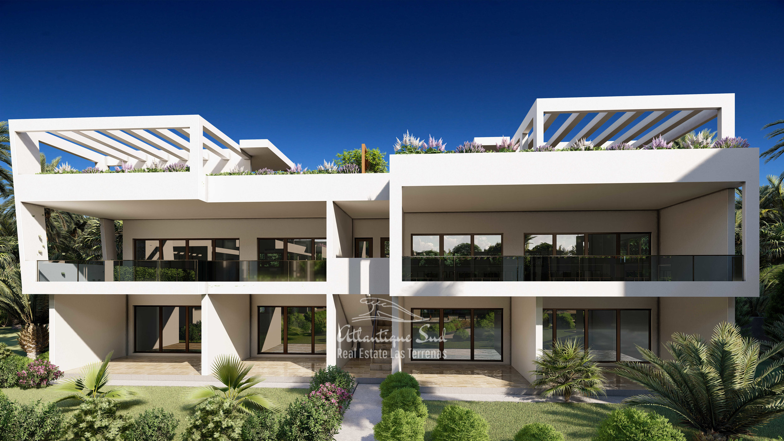 Development of modern condos steps from the beach Real Estate Las Terrenas Atlantique Sud Dominican Republic5.jpg