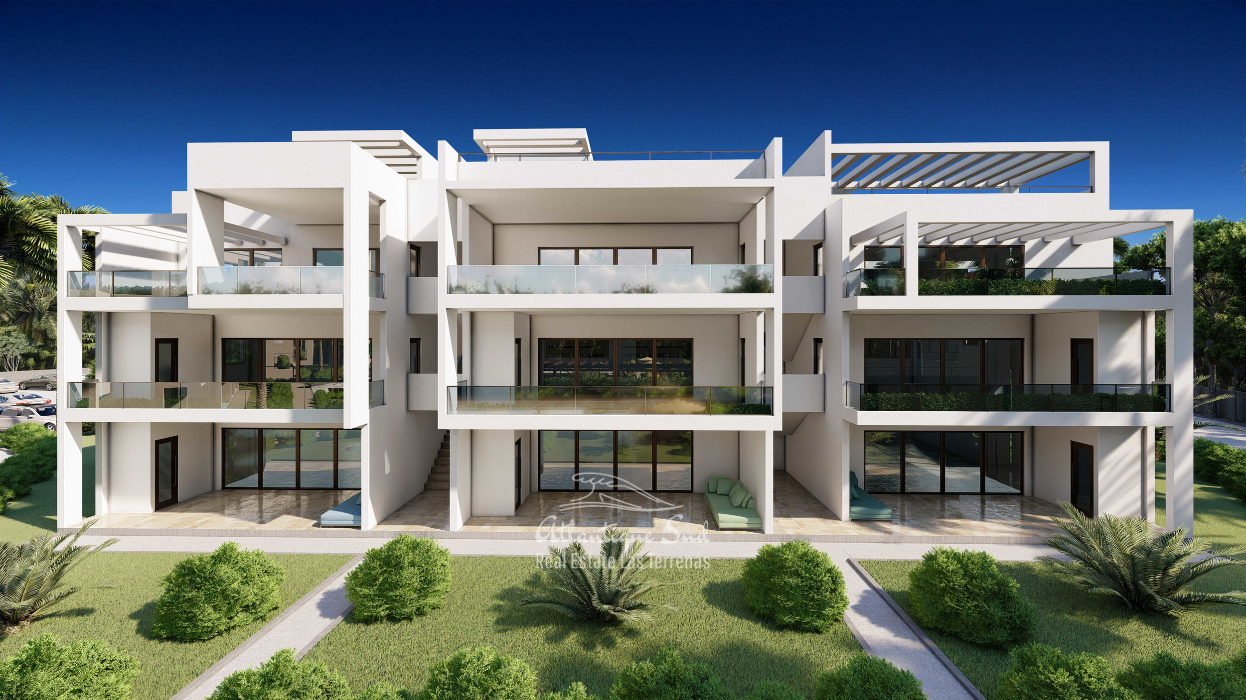 Development of modern condos steps from the beach Real Estate Las Terrenas Atlantique Sud Dominican Republic7.jpg