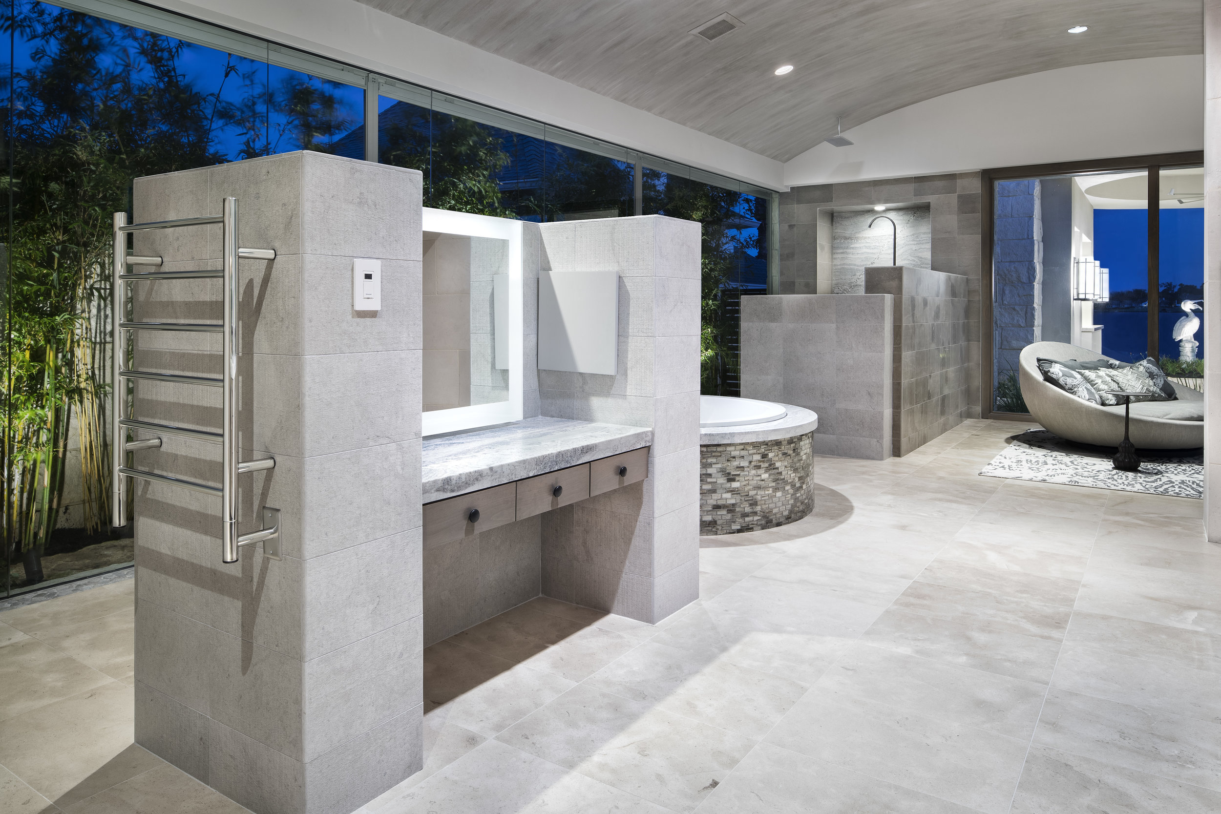 Susie Marion: Honoring the Architecture - The best interior selections are the ones that highlight and work in complete harmony with the architecture. I draw my inspiration from your floor plan and elevations. The minute the drawing hit my desk I